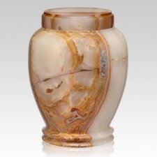 Angels Green Onyx Cremation Urn