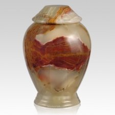 Medium Green Classica Onyx Cremation Urn