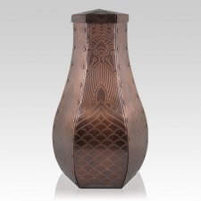 Mehndi Copper Cremation Urns