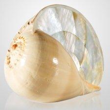 Melo Pearl Shell Keepsake Urn