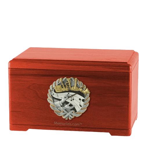 Melodic Cherry Cremation Urn