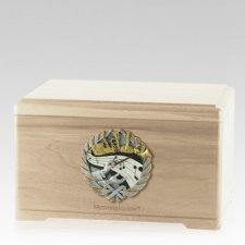 Melodic Maple Cremation Urn