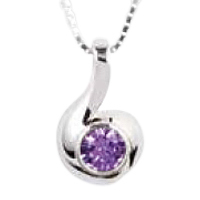 Melody Amethyst Keepsake Jewelry