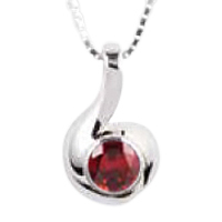 Melody Garnet Keepsake Jewelry