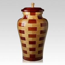 Memphis Large Wood Urn