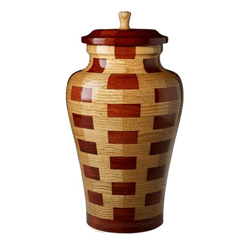 Memphis Large Wood Urn