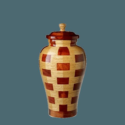 Memphis Medium Wood Urn