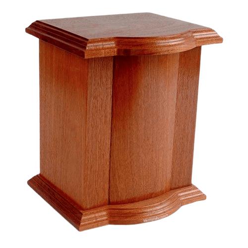 Mercado Wood Cremation Urn