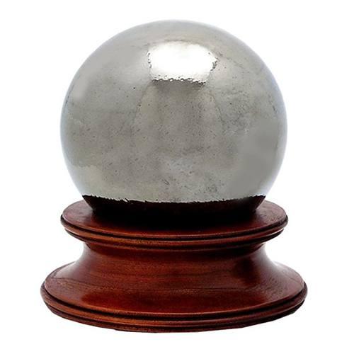 Mercury Glass Pet Urn
