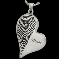 Merged Heart Cremation Print Keepsakes