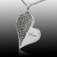 Merged Heart Cremation Print Keepsakes
