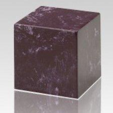 Merlot Cube Keepsake Cremation Urn