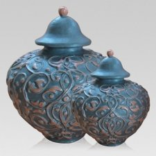 Mermaid Ceramic Cremation Urns