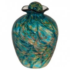Mermaid Glass Cremation Urn