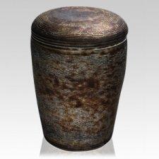 Metallica Ceramic Urn