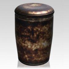 Metallico Ceramic Urn
