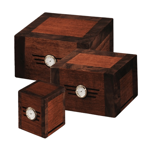 Metronome Wood Cremation Urns