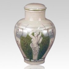 Michelangelo Earth Ceramic Cremation Urn
