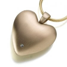 Micro Lens Heart Keepsake Jewelry