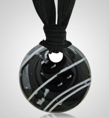 Midnight Cremation Ashes Pendants