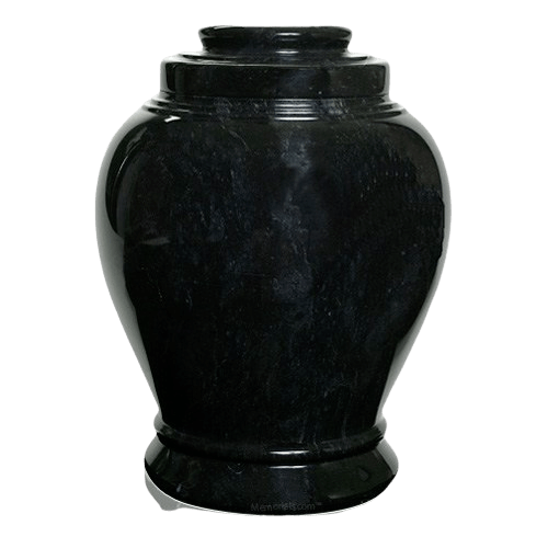 Midnight Marble Cremation Urn