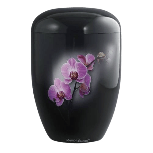Midnight Orchid Biodegradable Urn