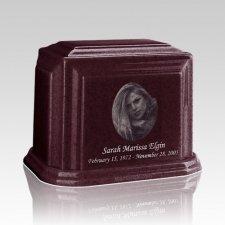 Millennium Burgundy Medium Marble Urn