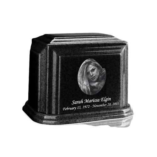 Millennium Charcoal Keepsake Marble Urn