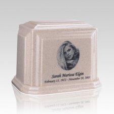 Millennium Cream Medium Marble Urn
