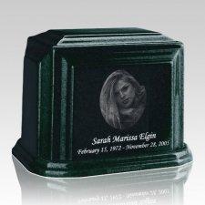 Millennium Emerald Large Marble Urn