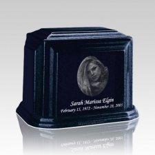 Millennium Sapphire Blue Medium Marble Urn
