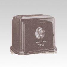 Millennium Basil Wood Medium Marble Urn