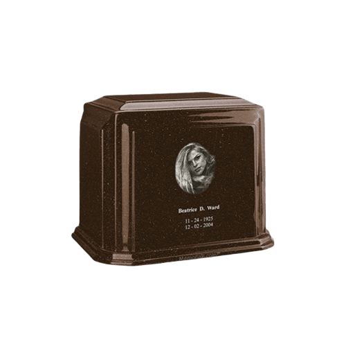Millennium Chocolate Keepsake Marble Urn