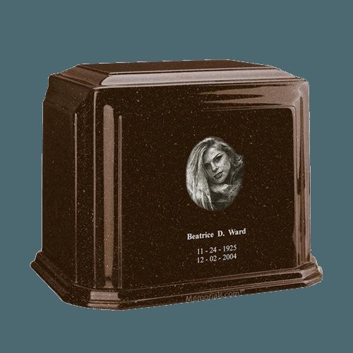 Millennium Chocolate Large Marble Urn