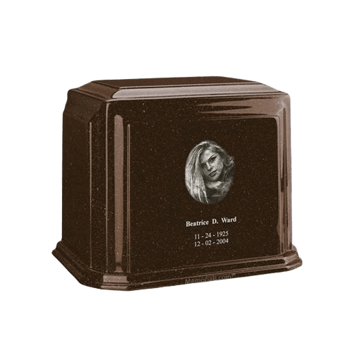 Millennium Chocolate Medium Marble Urn