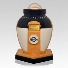 Milwaukee Brewers Baseball Cremation Urn
