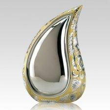 Mini Teardrop Gold Keepsake Urn