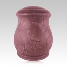 Serenity Red Keepsake Cremation Urn