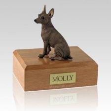 Miniature Pincher Red X Large Dog Urn