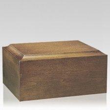 Minimalist Walnut Companion Urn