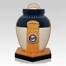 Minnesota Twins Baseball Cremation Urn