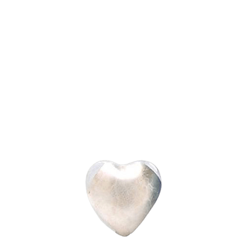 Mirror Glass Heart Keepsake