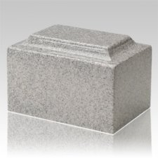 Mist Gray Granite Keepsake Cremation Urn