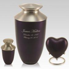 Mod Violet Cremation Urns