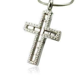 Cross Cremation Jewelry
