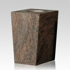 Medium Gray Modern Granite Vase