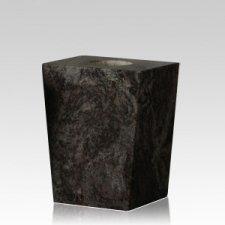 India Black Modern Granite Vase