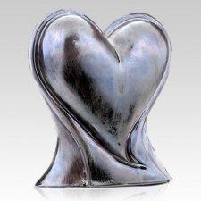 Modern Heart Ceramic Pet Urns