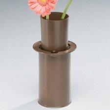 Moderne Bronze Cemetery Vase