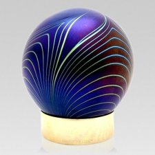 Moderne Glass Child Cremation Urn